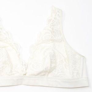 PINK Victoria's Secret Intimates & Sleepwear - PINK Victoria's Secret Floral Lace Plunge Bralette